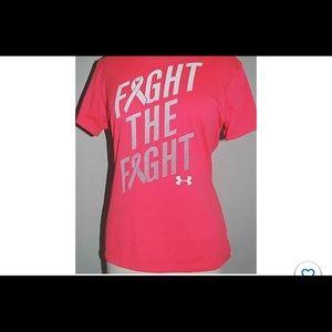 UNDER ARMOUR UA HeatGear Women's M - Neon Pink